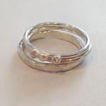 Silver Stacking Ring